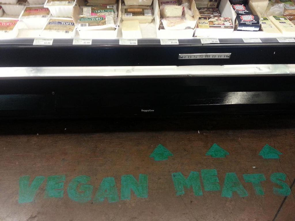 """Photo of Whole Foods Market - Robson  by <a href=""""/members/profile/eric"""">eric</a> <br/>vegan meats <br/> July 26, 2014  - <a href='/contact/abuse/image/13957/75209'>Report</a>"""