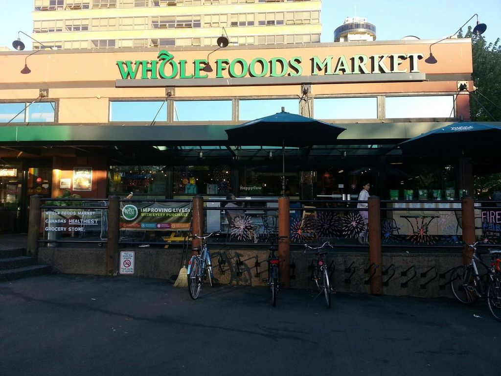 """Photo of Whole Foods Market - Robson  by <a href=""""/members/profile/eric"""">eric</a> <br/>outside view <br/> July 28, 2014  - <a href='/contact/abuse/image/13957/75331'>Report</a>"""