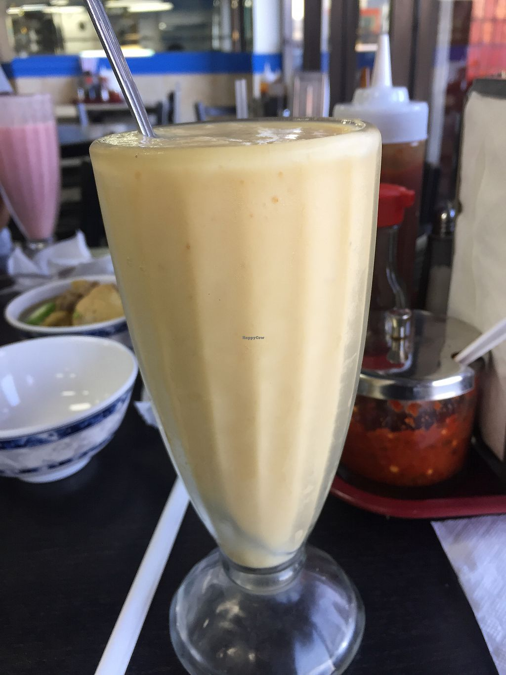 """Photo of Veggie Life Restaurant  by <a href=""""/members/profile/R-MV"""">R-MV</a> <br/>Jackfruit Smoothie <br/> August 24, 2017  - <a href='/contact/abuse/image/14017/296869'>Report</a>"""