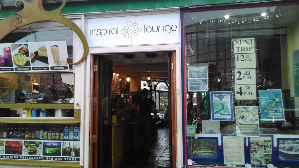 """Photo of CLOSED: InSpiral Lounge  by <a href=""""/members/profile/LilacHippy"""">LilacHippy</a> <br/>Outside restaurant <br/> June 30, 2015  - <a href='/contact/abuse/image/14026/107732'>Report</a>"""