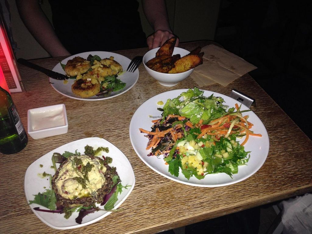 """Photo of CLOSED: InSpiral Lounge  by <a href=""""/members/profile/RubyFriel"""">RubyFriel</a> <br/>Bar food  <br/> November 2, 2014  - <a href='/contact/abuse/image/14026/84416'>Report</a>"""