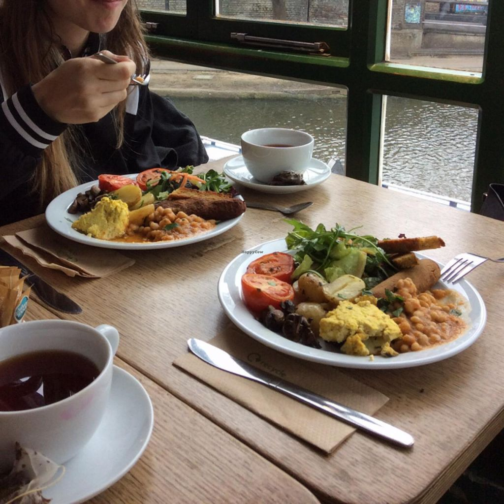 """Photo of CLOSED: InSpiral Lounge  by <a href=""""/members/profile/Noe"""">Noe</a> <br/>vegan english breakfast, very tasty <br/> April 3, 2015  - <a href='/contact/abuse/image/14026/97658'>Report</a>"""