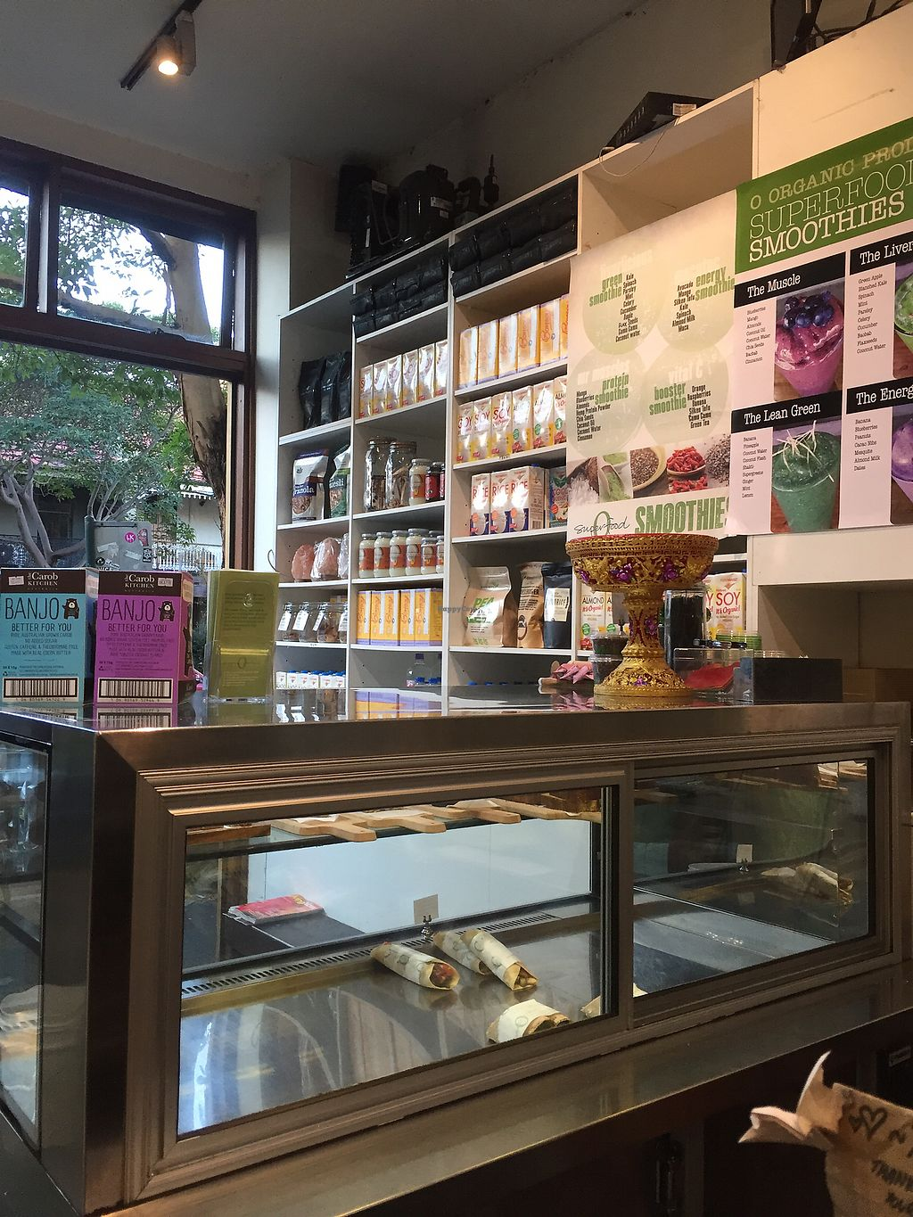 """Photo of Organic Produce Cafe  by <a href=""""/members/profile/JackSlack"""">JackSlack</a> <br/>Countertop area <br/> July 14, 2017  - <a href='/contact/abuse/image/14067/280403'>Report</a>"""