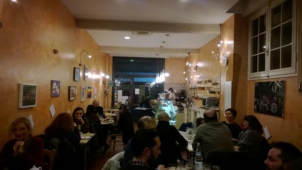 "Photo of Estravagario  by <a href=""/members/profile/Alessandro"">Alessandro</a> <br/>Fair trade bar and organic restaurant in Bologna <br/> January 27, 2014  - <a href='/contact/abuse/image/14068/63187'>Report</a>"