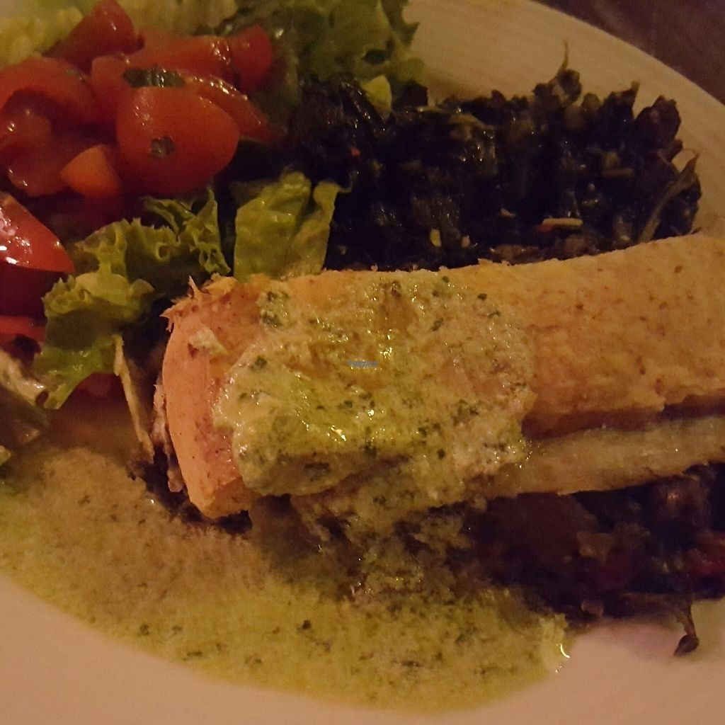 """Photo of Bonnington Cafe  by <a href=""""/members/profile/VeganAnnaS"""">VeganAnnaS</a> <br/>Vegetable struddle <br/> March 9, 2017  - <a href='/contact/abuse/image/14101/234644'>Report</a>"""