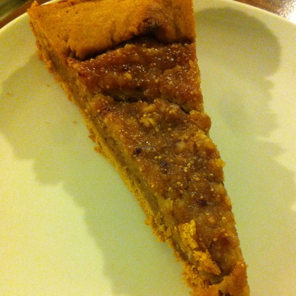 """Photo of Oh Mio Bio  by <a href=""""/members/profile/hokusai77"""">hokusai77</a> <br/>almond cream and fig tart <br/> September 6, 2015  - <a href='/contact/abuse/image/14143/116564'>Report</a>"""