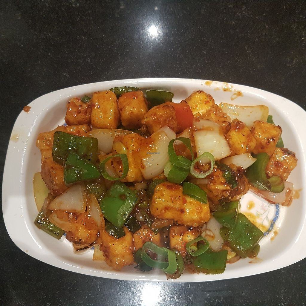 "Photo of Saraswathy Bavan  by <a href=""/members/profile/kennyp353"">kennyp353</a> <br/>Chilli paneer dry appetiser. Best paneer I ever had <br/> October 17, 2017  - <a href='/contact/abuse/image/14158/316186'>Report</a>"