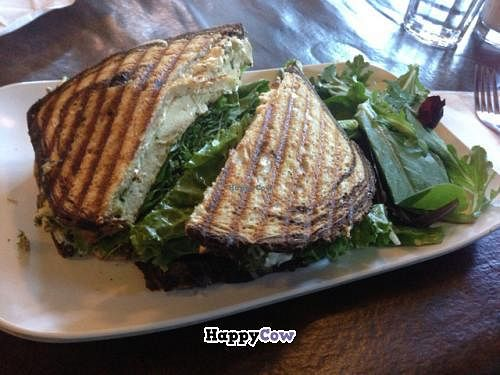"""Photo of Strong Hearts Cafe  by <a href=""""/members/profile/gwild"""">gwild</a> <br/>TLT with pesto <br/> August 11, 2013  - <a href='/contact/abuse/image/14197/53084'>Report</a>"""
