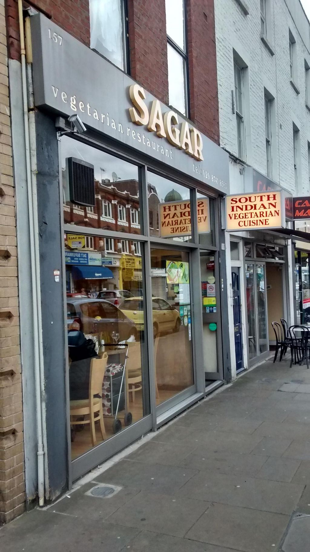 """Photo of Sagar - West End  by <a href=""""/members/profile/craigmc"""">craigmc</a> <br/>Shop front <br/> September 1, 2014  - <a href='/contact/abuse/image/14210/78782'>Report</a>"""