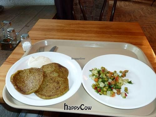 """Photo of Troitsky Most - Nab Reki Moyki  by <a href=""""/members/profile/ericgoldman"""">ericgoldman</a> <br/>Broccoli wheats and garbanzo bean salad <br/> June 5, 2013  - <a href='/contact/abuse/image/14243/49217'>Report</a>"""