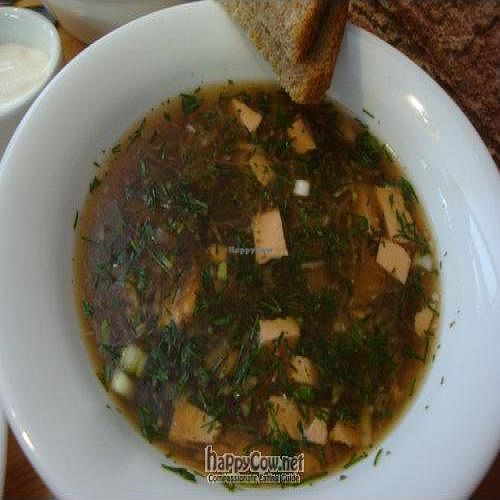 """Photo of Troitsky Most - Nab Reki Moyki  by <a href=""""/members/profile/Sonja%20and%20Dirk"""">Sonja and Dirk</a> <br/>cold mushroom and cabbage soup <br/> July 30, 2011  - <a href='/contact/abuse/image/14243/9872'>Report</a>"""