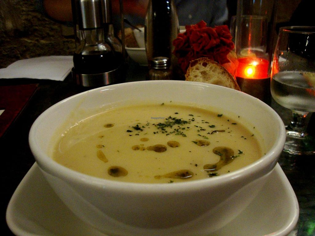 """Photo of Tate Cafe Bar  by <a href=""""/members/profile/SueClesh"""">SueClesh</a> <br/>cauliflower soup <br/> June 11, 2014  - <a href='/contact/abuse/image/14246/71817'>Report</a>"""
