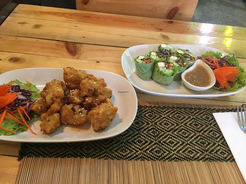 """Photo of Taste from Heaven  by <a href=""""/members/profile/SkyFitzgerald"""">SkyFitzgerald</a> <br/>Spicy cauliflower bites and the fresh spring rolls!  <br/> November 6, 2017  - <a href='/contact/abuse/image/14253/322445'>Report</a>"""