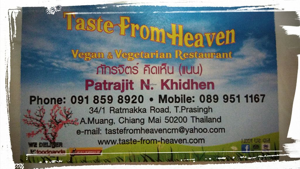"""Photo of Taste from Heaven  by <a href=""""/members/profile/ChoyYuen"""">ChoyYuen</a> <br/>Namecard <br/> May 26, 2018  - <a href='/contact/abuse/image/14253/405314'>Report</a>"""