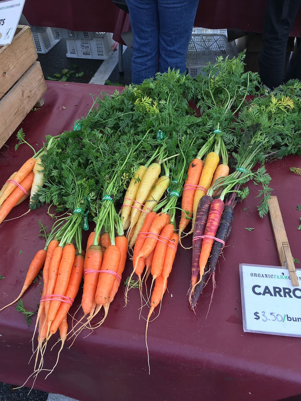 """Photo of Farmers Markets  by <a href=""""/members/profile/Siup"""">Siup</a> <br/>Carrots  <br/> December 11, 2017  - <a href='/contact/abuse/image/14275/334504'>Report</a>"""