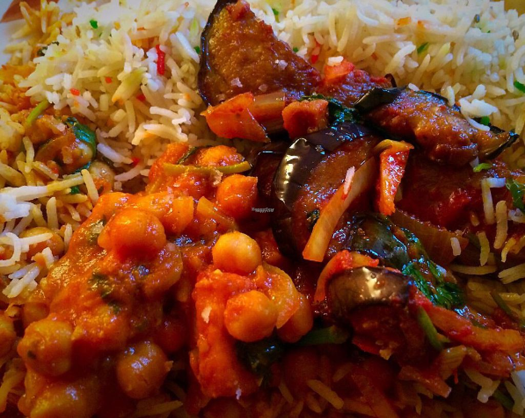 """Photo of Bengal Brasserie  by <a href=""""/members/profile/CiaraSlevin"""">CiaraSlevin</a> <br/>mixed vegetable dishes & rice <br/> August 21, 2016  - <a href='/contact/abuse/image/14307/240114'>Report</a>"""