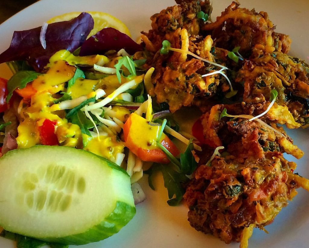 """Photo of Bengal Brasserie  by <a href=""""/members/profile/CiaraSlevin"""">CiaraSlevin</a> <br/>vegetable pakora  <br/> August 21, 2016  - <a href='/contact/abuse/image/14307/240145'>Report</a>"""