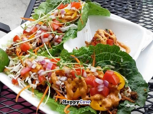 """Photo of Leafy Greens Cafe  by <a href=""""/members/profile/Leafy%20Greens%20Cafe"""">Leafy Greens Cafe</a> <br/>tacos <br/> September 29, 2013  - <a href='/contact/abuse/image/14358/56008'>Report</a>"""