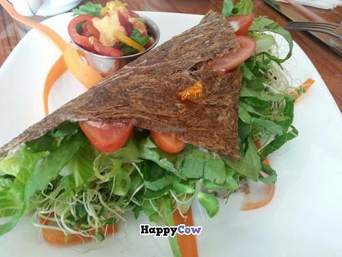 """Photo of Leafy Greens Cafe  by <a href=""""/members/profile/eric"""">eric</a> <br/>real deal <br/> October 25, 2013  - <a href='/contact/abuse/image/14358/57293'>Report</a>"""