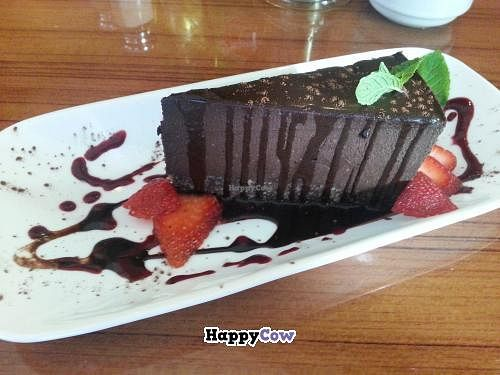 """Photo of Leafy Greens Cafe  by <a href=""""/members/profile/eric"""">eric</a> <br/>chocolate pie <br/> October 25, 2013  - <a href='/contact/abuse/image/14358/57296'>Report</a>"""