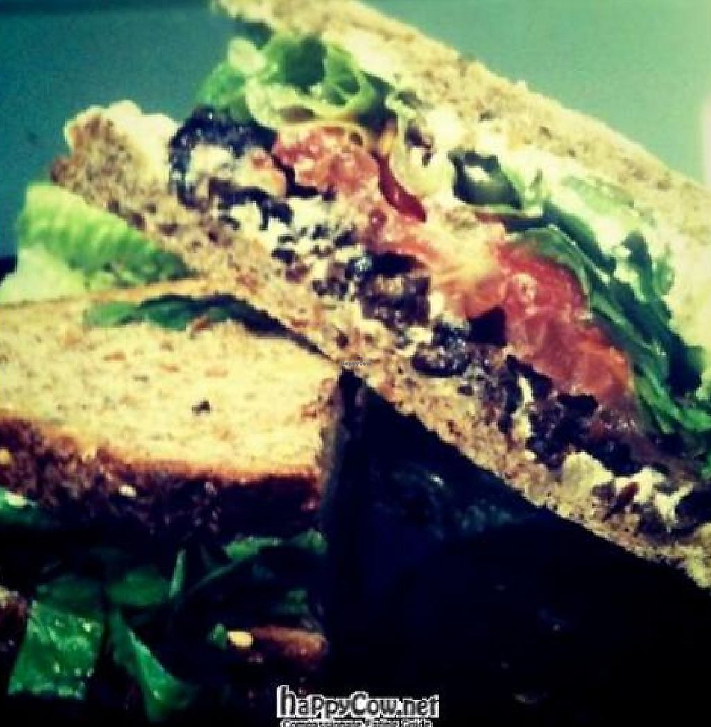 """Photo of CLOSED: Sun in Bloom  by <a href=""""/members/profile/JD55555"""">JD55555</a> <br/>Vegan BLT with shitake mushroom 'bacon' <br/> November 15, 2011  - <a href='/contact/abuse/image/14366/194141'>Report</a>"""