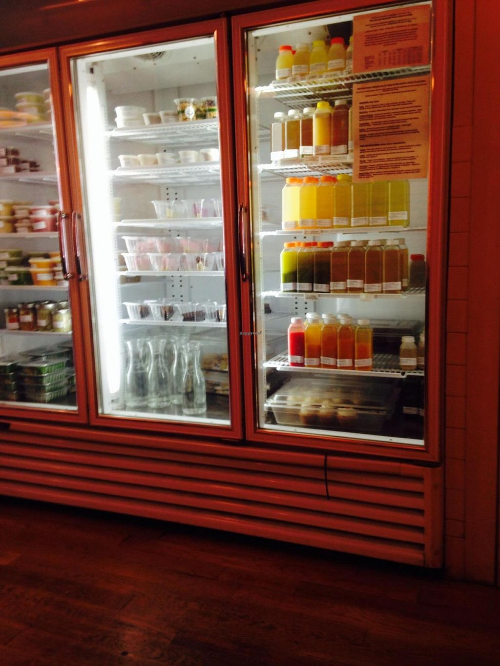 """Photo of CLOSED: Sun in Bloom  by <a href=""""/members/profile/cookiem"""">cookiem</a> <br/>Juices and prepared food ready to purchase and consume <br/> August 24, 2014  - <a href='/contact/abuse/image/14366/78150'>Report</a>"""