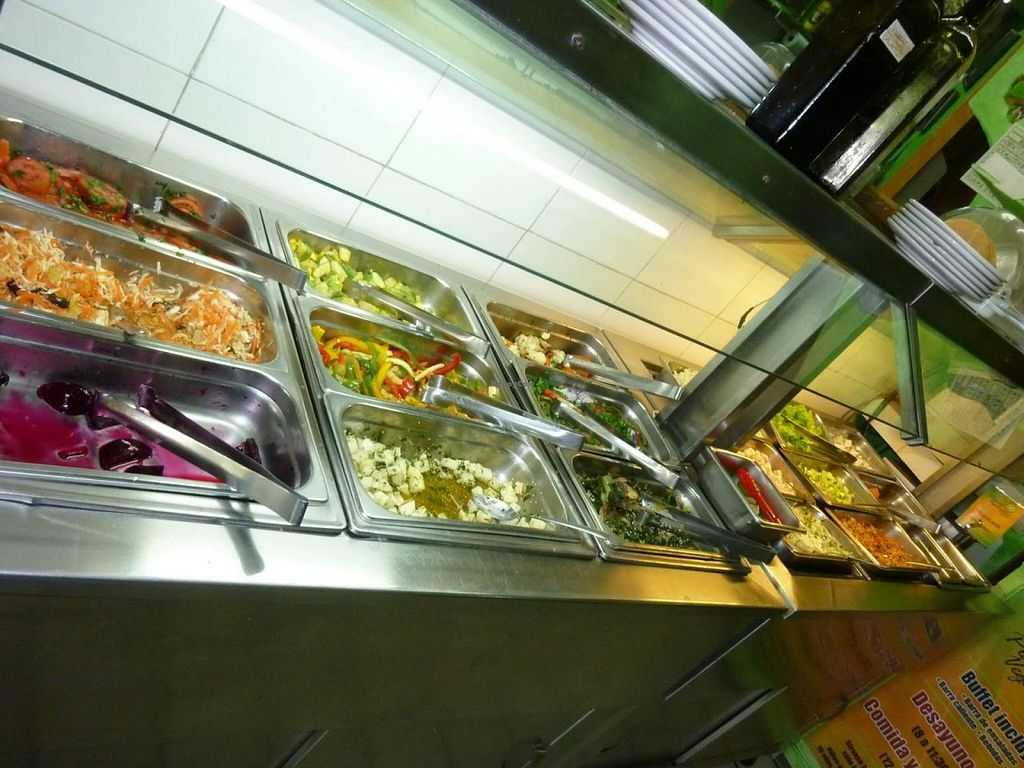 Photo of Planeta Vegetariano  by StephenS <br/>Salad Bar <br/> July 15, 2014  - <a href='/contact/abuse/image/1436/74153'>Report</a>