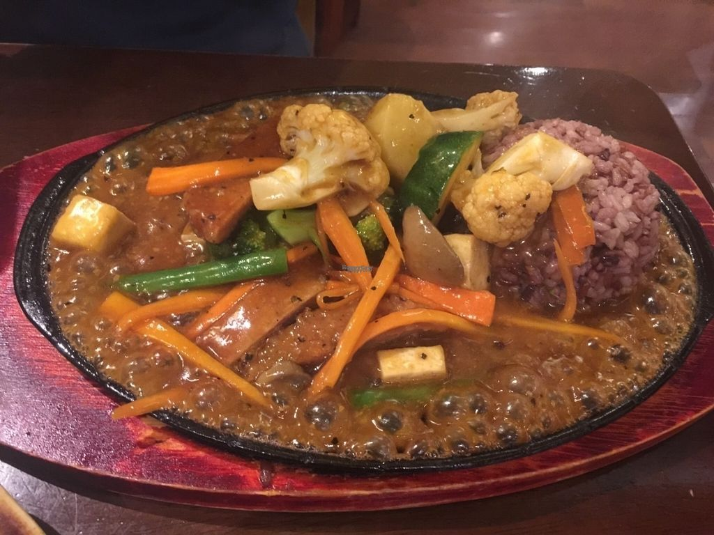 """Photo of Chat For Tea  by <a href=""""/members/profile/Tiggy"""">Tiggy</a> <br/>Mock pork stir-fry - September 2016 <br/> September 10, 2016  - <a href='/contact/abuse/image/14391/174803'>Report</a>"""