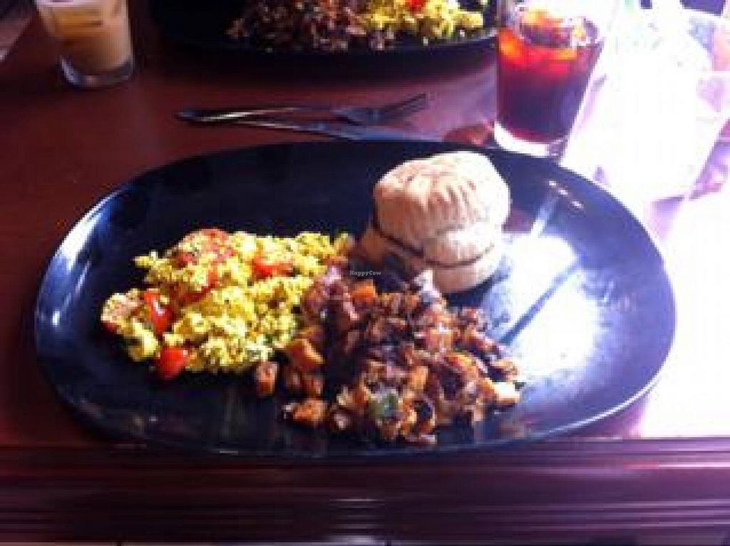 "Photo of Green Sage Cafe - Broadway  by <a href=""/members/profile/tcasalena"">tcasalena</a> <br/>sunrise platter made vegan  <br/> August 23, 2014  - <a href='/contact/abuse/image/14420/78029'>Report</a>"