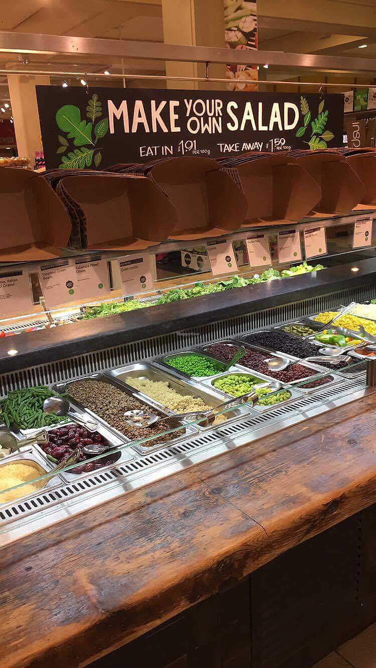 """Photo of Whole Foods Market - Kensington High St  by <a href=""""/members/profile/danielaj"""">danielaj</a> <br/>one side of salad bar in Kensington  <br/> August 1, 2017  - <a href='/contact/abuse/image/14443/287633'>Report</a>"""