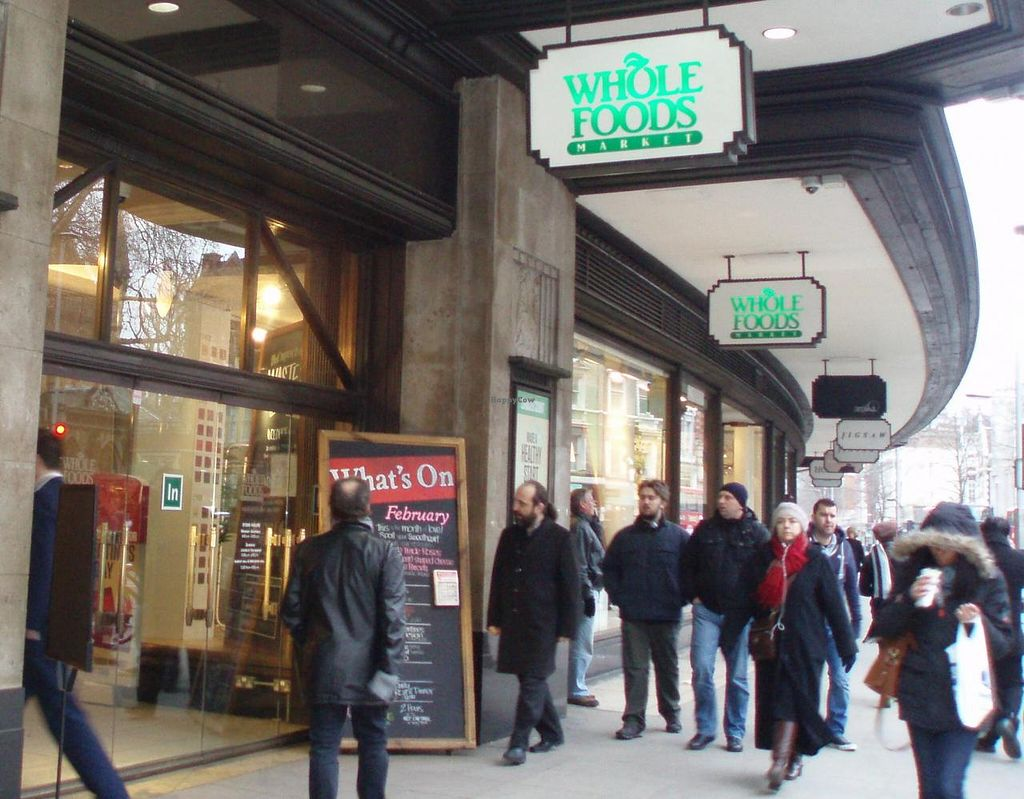 """Photo of Whole Foods Market - Kensington High St  by <a href=""""/members/profile/Pamina"""">Pamina</a> <br/>Whole Foods Market, Kensington, London <br/> May 22, 2014  - <a href='/contact/abuse/image/14443/70449'>Report</a>"""