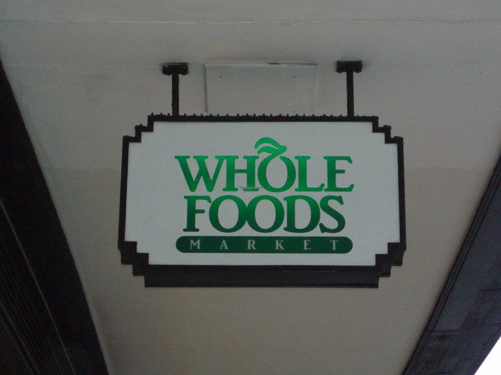 """Photo of Whole Foods Market - Kensington High St  by <a href=""""/members/profile/Pamina"""">Pamina</a> <br/>Sign of Whole Foods Market, Kensington, London <br/> May 22, 2014  - <a href='/contact/abuse/image/14443/70450'>Report</a>"""