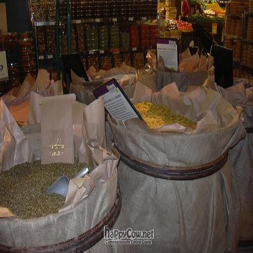"""Photo of Whole Foods Market - Kensington High St  by <a href=""""/members/profile/wildfang"""">wildfang</a> <br/>Bag your noodles, rice and more yourself! <br/> July 9, 2011  - <a href='/contact/abuse/image/14443/9582'>Report</a>"""