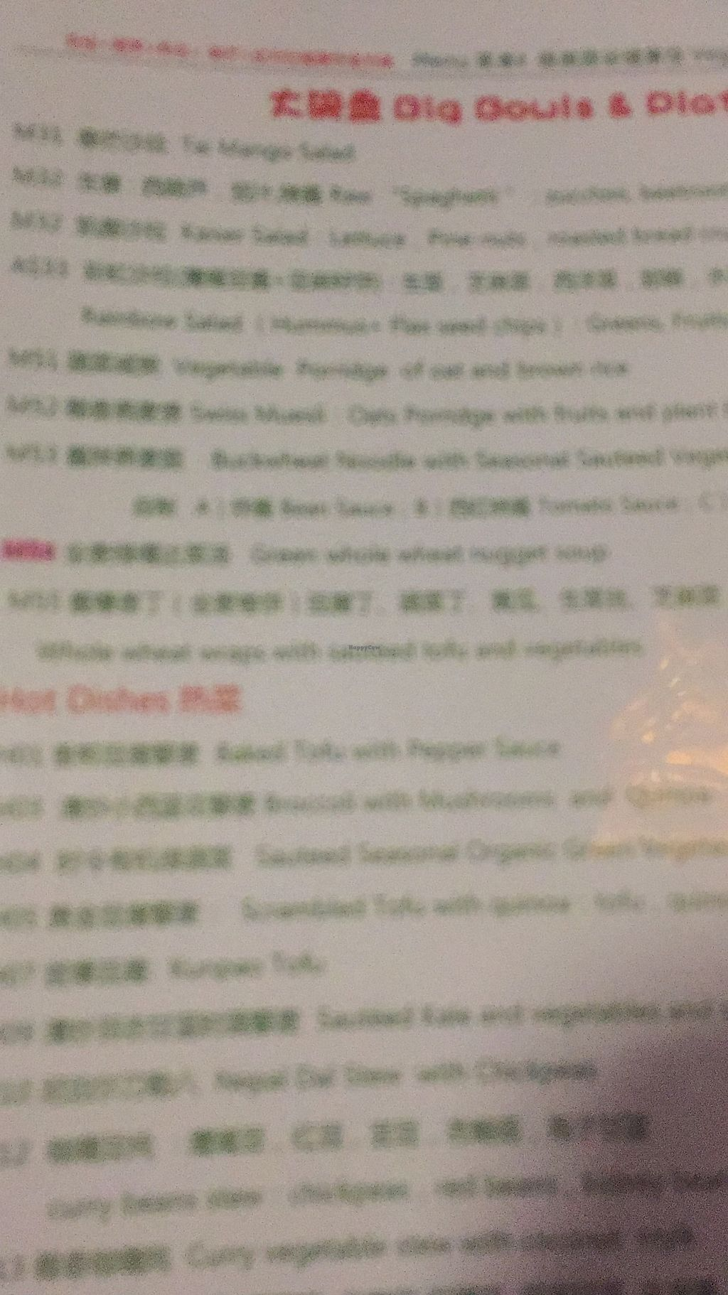 """Photo of Beijing Vegan Hut  by <a href=""""/members/profile/vegannomad2"""">vegannomad2</a> <br/>menu <br/> June 29, 2017  - <a href='/contact/abuse/image/14458/274804'>Report</a>"""
