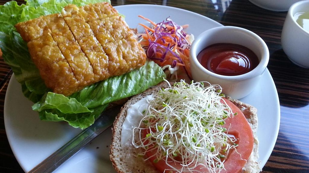 """Photo of LA Vegan  by <a href=""""/members/profile/eric"""">eric</a> <br/>Tempeh sandwich <br/> December 26, 2014  - <a href='/contact/abuse/image/14477/88736'>Report</a>"""