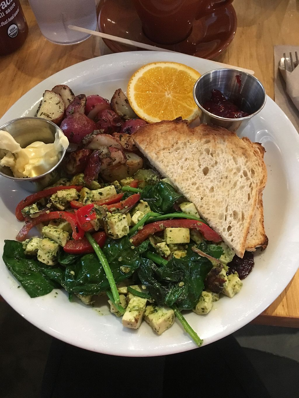 "Photo of The Plant Cafe Organic - Marina Cafe  by <a href=""/members/profile/Medman"">Medman</a> <br/>Tofu scramble <br/> April 18, 2018  - <a href='/contact/abuse/image/14559/387704'>Report</a>"