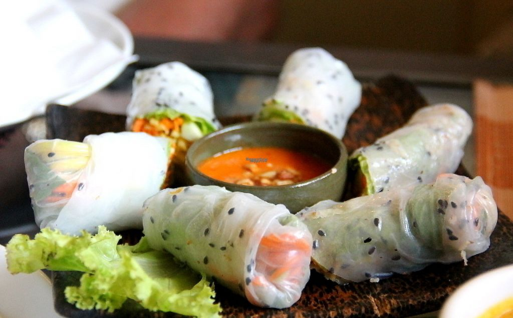 "Photo of Chamkar Cafe - The Passage  by <a href=""/members/profile/reissausta%20ja%20ruokaa"">reissausta ja ruokaa</a> <br/>Summer rolls. It might be that they call them fresh spring rolls. Good.  <br/> December 17, 2016  - <a href='/contact/abuse/image/14676/202244'>Report</a>"