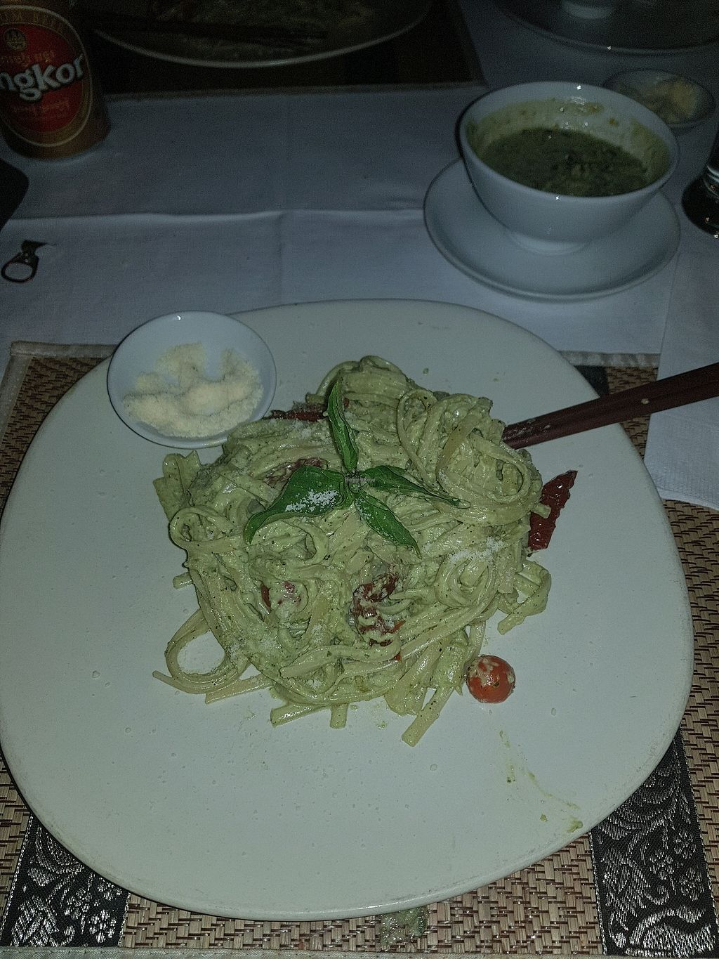 "Photo of Chamkar Cafe - The Passage  by <a href=""/members/profile/AliMac84"">AliMac84</a> <br/>pesto pasta <br/> March 27, 2018  - <a href='/contact/abuse/image/14676/376677'>Report</a>"