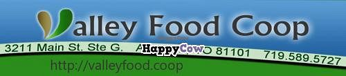 Photo of Valley Food Coop  by valleyfoodcoop <br/>The Valley Food Coop in Alamosa Colorado is committed to providing consumers in Southern Colorado and Northern New Mexico with organic,healthy diet options as well as supplements and other alternative products <br/> July 24, 2013  - <a href='/contact/abuse/image/14695/52086'>Report</a>