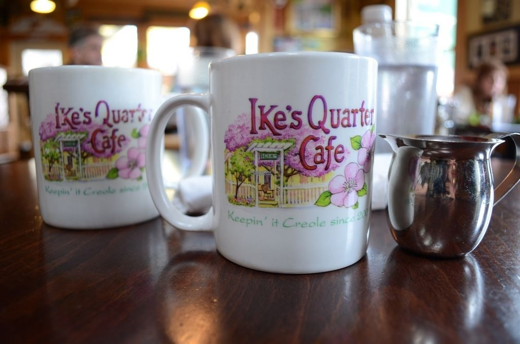 """Photo of Ike's Quarter Cafe  by <a href=""""/members/profile/alexandra_vegan"""">alexandra_vegan</a> <br/>Coffee (served with plant based milk on request) <br/> November 7, 2016  - <a href='/contact/abuse/image/14700/187118'>Report</a>"""