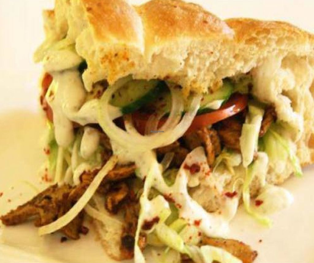 """Photo of Loving Hut - Favoritenstrasse  by <a href=""""/members/profile/spagetti"""">spagetti</a> <br/>amazing vegan kebab <br/> October 31, 2011  - <a href='/contact/abuse/image/14720/188573'>Report</a>"""