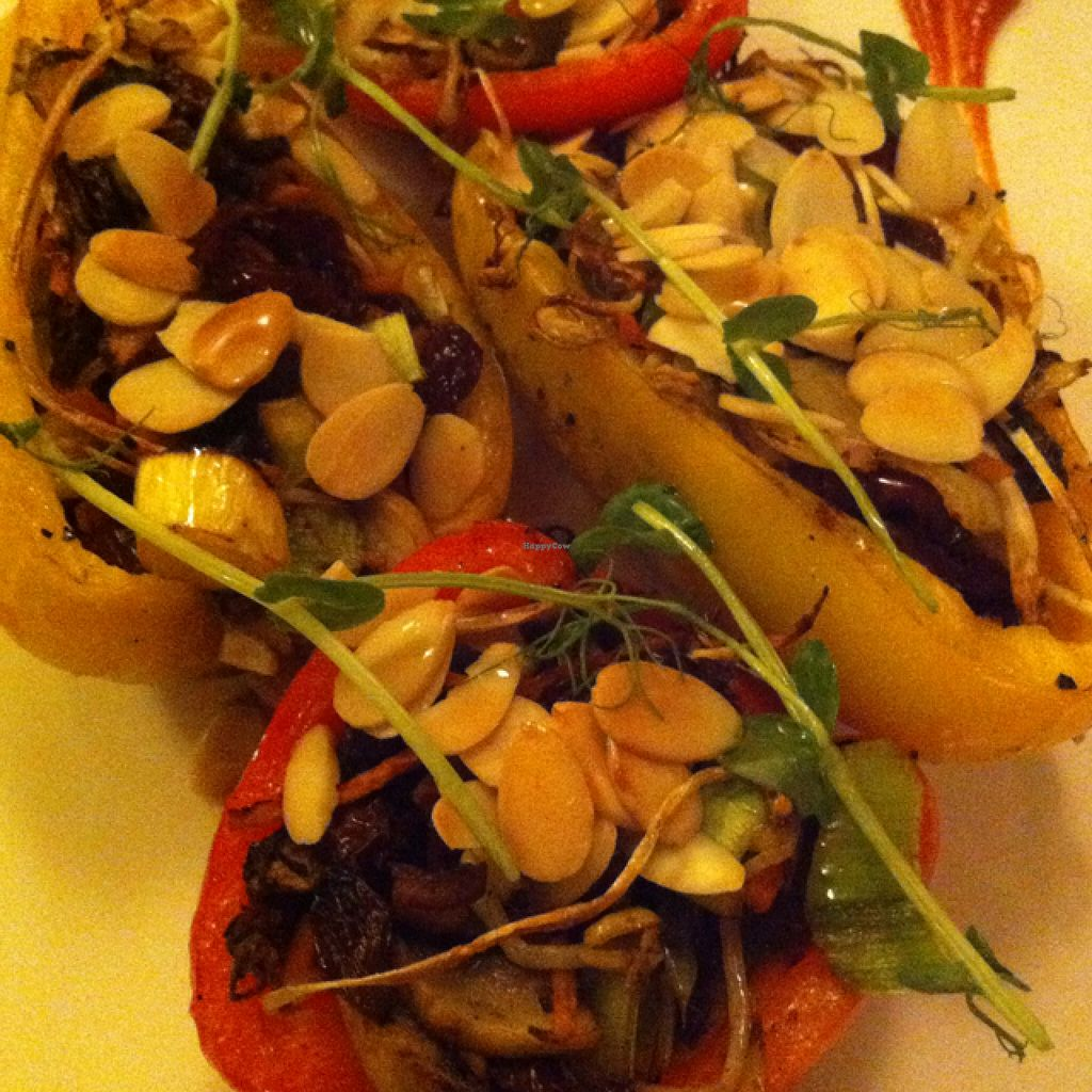 """Photo of Il-Mithna  by <a href=""""/members/profile/hokusai77"""">hokusai77</a> <br/>roasted bell peppers stuffed with a vegan filling <br/> September 28, 2015  - <a href='/contact/abuse/image/14734/119490'>Report</a>"""