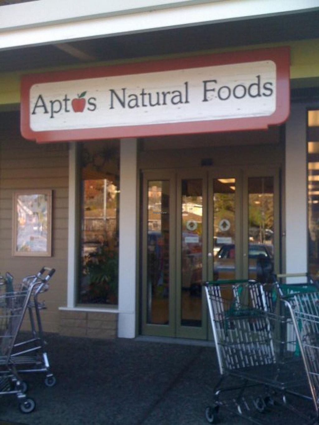 """Photo of Aptos Natural Foods  by <a href=""""/members/profile/H"""">H</a> <br/>outside  <br/> January 23, 2014  - <a href='/contact/abuse/image/1477/62991'>Report</a>"""