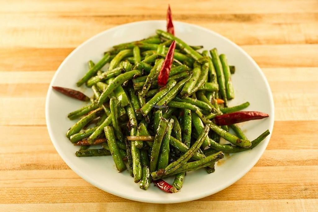 "Photo of Grand View Szechuan Restaurant  by <a href=""/members/profile/community"">community</a> <br/>Spicy Green Beans <br/> March 7, 2017  - <a href='/contact/abuse/image/14792/233805'>Report</a>"