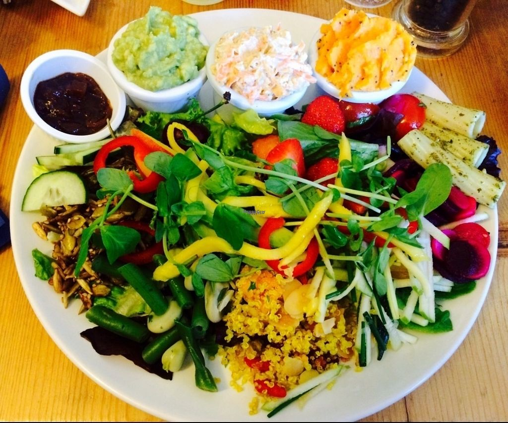 """Photo of The Green Way Cafe  by <a href=""""/members/profile/Libra77"""">Libra77</a> <br/>Deli salad <br/> October 1, 2016  - <a href='/contact/abuse/image/14809/178902'>Report</a>"""