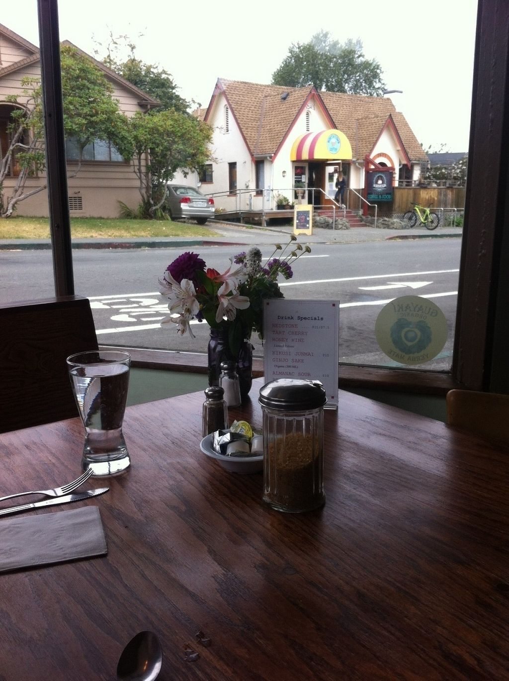"""Photo of Wildflower Cafe and Bakery  by <a href=""""/members/profile/BananaAddict"""">BananaAddict</a> <br/>View from corner table <br/> August 17, 2016  - <a href='/contact/abuse/image/1480/169369'>Report</a>"""