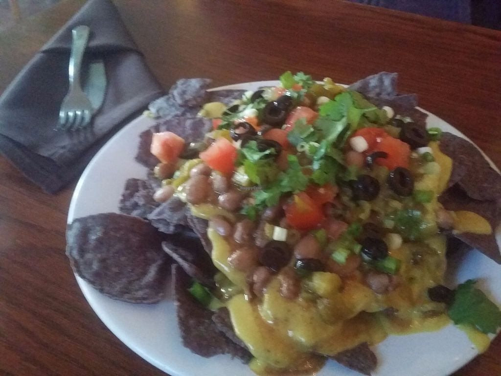 """Photo of Wildflower Cafe and Bakery  by <a href=""""/members/profile/purplesnowcone"""">purplesnowcone</a> <br/>vegan nachos <br/> July 24, 2017  - <a href='/contact/abuse/image/1480/284434'>Report</a>"""