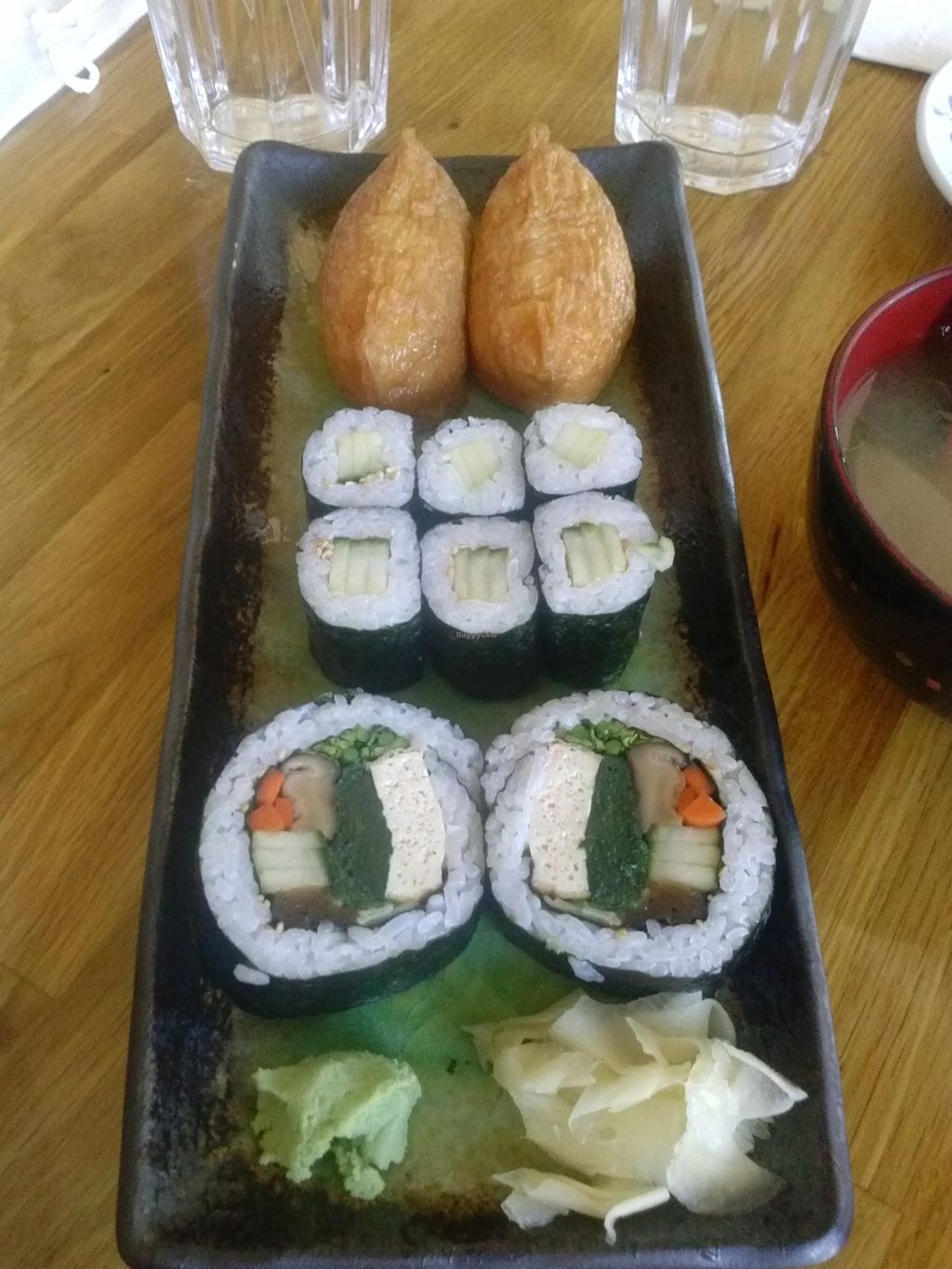 """Photo of Cha-Ya  by <a href=""""/members/profile/Sonja%20and%20Dirk"""">Sonja and Dirk</a> <br/>sushi lunch combo <br/> September 20, 2015  - <a href='/contact/abuse/image/1481/118543'>Report</a>"""