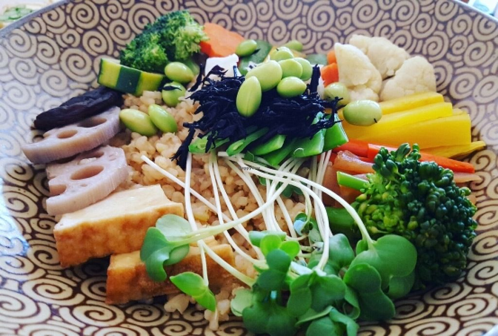 """Photo of Cha-Ya  by <a href=""""/members/profile/VeganVentures"""">VeganVentures</a> <br/>Rice bowl  <br/> June 27, 2016  - <a href='/contact/abuse/image/1481/156330'>Report</a>"""