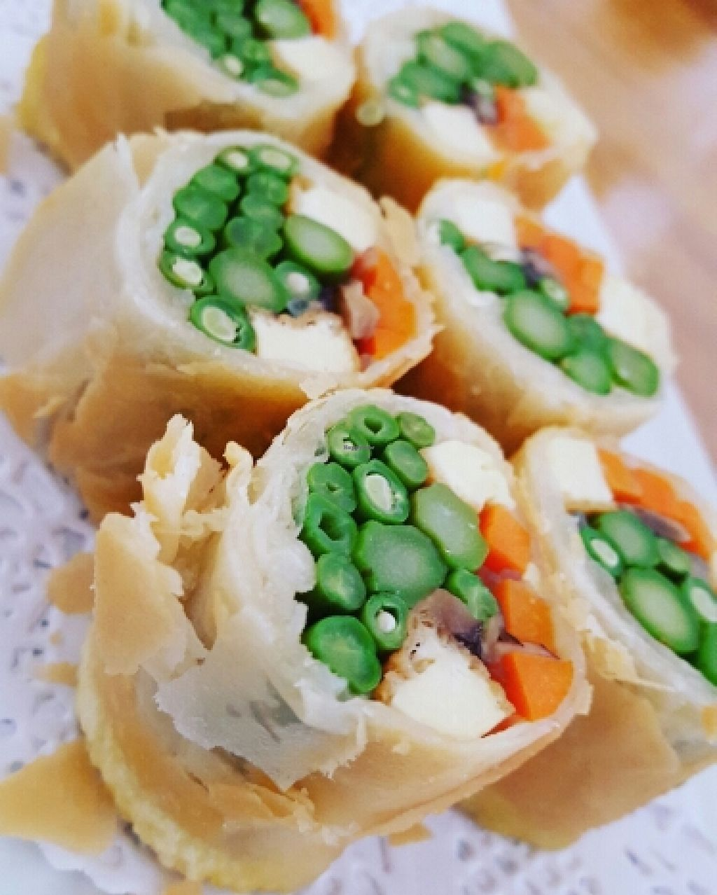 """Photo of Cha-Ya  by <a href=""""/members/profile/VeganVentures"""">VeganVentures</a> <br/>Spring Rolls  <br/> June 27, 2016  - <a href='/contact/abuse/image/1481/156332'>Report</a>"""